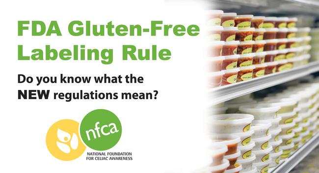 FDA Gluten-Free Labeling Rule