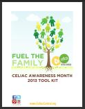 Celiac Awareness Month toolkit cover